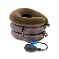 Air Inflatable Pillow Cervical Neck Pain Relief Traction Support Brace Stretcher