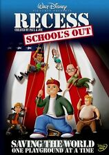 Disney Channel Animated T.V. Series Recess Theatrical Film School's Out on DVD