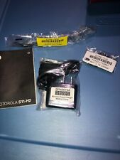 New Original Flex Band , Gels, Charger,and Manual For Motorola S11 - Hd