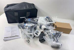 Hart Tool Bundle Drill Impact 20v HPCK402 Batteries Case Reciprocating Saw Case