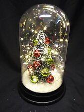 Tarro de cúpula 23cm de venta Ornamento De Navidad Con Árbol De Navidad Y Luces-con Pilas