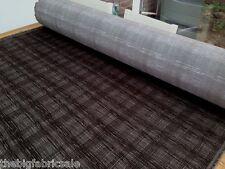 Retro Modern Brown Weave Design Velvet Chenille Upholstery Fabric Material Sale!