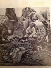G2-1 Ephemera 1959 Picture Dinosaur Dig Stow Bridge Norfolk