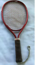 Vintage Ektelon Graphite Racquetball Racquet Leather Grip Size Large With Case
