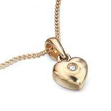 Yellow Gold Excellent SI1 Fine Diamond Necklaces & Pendants