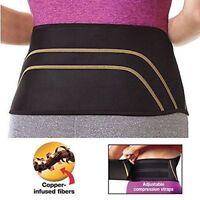 Copper Fit Back Pro Compression Belt, Adjustable Lower Lumbar Back Brace Support