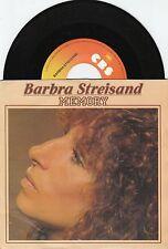 BARBRA STREISAND Memory 45