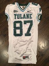 Game Worn Used Nike Tulane Green Wave Football Jersey #87 Size M