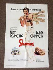 Shamus Original 1972 Movie Poster Burt Reynolds