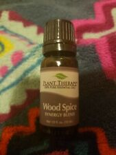 Plant Therapy Wood Spice Manly Scented Essential Oil Synergy. 10 ml (1/3 oz) New