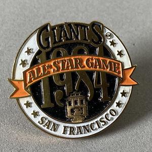 1984 Baseball All Star Game Press Pin San Francisco Giants Candlestick Park