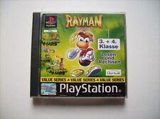 Rayman Junior Lesen + Rechnen mit Rayman: 3. + 4. Klasse PS1 Playstation 1