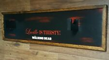 "Negan ""Lucille"" Wall Plaque ~LUCILLE IS THIRSTY / THE WALKING DEAD~"