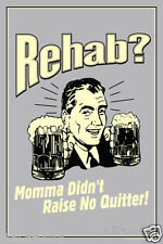 "Funny Retro Beer Rehab? Photo Fridge Magnet 2""x3"" Collectibles"