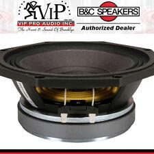 "B&C 8PE21 8"" Midrange Speaker 400W 8-Ohm High-Efficiency Car Woofer 8-Inch  NEW."
