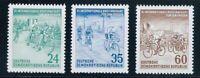 DDR #Mi355-Mi357 Mint CV€6.00 1953 Cycling Tour Peace [148-150][STOCK IMAGE]