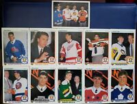 1990-91 Upper Deck Hockey 10 Card Draft Picks Set + Checklist (Jagr Rookie) WOW!