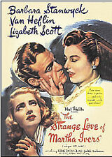 The Strange Love Of Martha Ivers (DVD, 2005) USED VERY GOOD - FREE POST !
