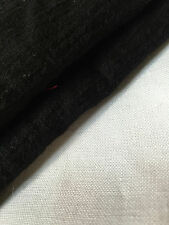 "60"" Black Rayon Crepon Gauze Woven Fabric By the Yard"