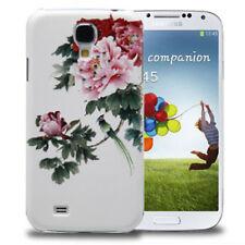 Hardcase Diamond Style für Samsung i9500 Galaxy S4 Pfingstrosen rosa Case Hülle
