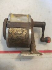 Vintage Desk Top Mount Old Cranknpencil Sharpener