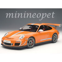 AUTOart 78148 PORSCHE 911 997 GT3 RS 4.0 1/18 DIECAST MODEL CAR ORANGE
