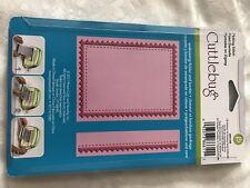 Cuttlebug Embossing Folder Pinking Stitch