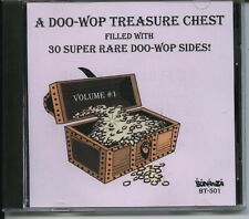 DOO-WOP TREASURE CHEST - CD - Vol. 1 - BRAND NEW