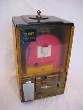 Vintage Victor 1 cent Basketball Gumball Vending Machine
