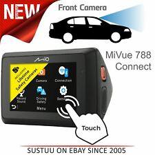 Mio MiVue 788 Connect Car GPS Dash Camera│1080p Full HD Recording│WiFi│Bluetooth