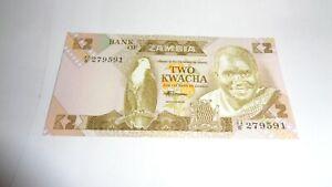 BILLET AFRIQUE - ZAMBIE - 2 KWACHA - 1984