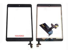 iPad Mini 1 Retina 2 Touchscreen Digitizer mit Homebutton & IC-Chip Schwarz
