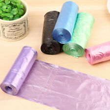 Hot 1-Roll(30pcs) Rubbish Garbage Kitchen Toilet Clean-up Waste Trash Bags
