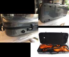 Double case:Carbon Fiber Adjustable Size Double (Violin case+viola case)