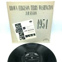 """1954 Washington Jam Session"" By Brown, Ferguson & Terry Lp Vinyl Record"