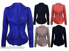 Button Waist Length Formal Coats & Jackets for Women