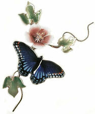 Red Spotted Purple Butterfly Metal Wall Art Sculpture #B82 by Bovano of Cheshire