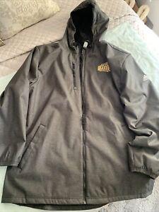 George Mason Patriots Adidas Size XL Hooded  Full Zip Up Jacket Coat