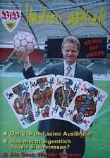 Programm 1995/96 VfB Stuttgart - Werder Bremen