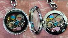 Personalized Floating Photo charm for Living Memory or Origami Owl Locket 8mm