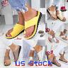 Women Shoes Platform Toe Ring Slippers Sandals Comfy Ladies Wedge Flip Flops US