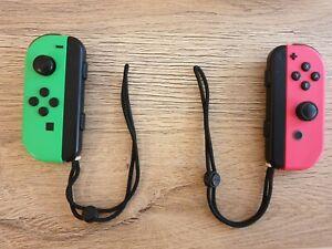Nintendo Switch Mando Joy-Con Set - Rosa y Verde neón