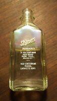 Vintage Shine's Pharmacy Glass Medicine Apothecary Pharmacy Bottle
