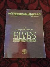 AD&D The Complete Book of Elves - TSR