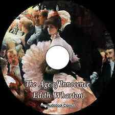 The Age of Innocence - Unabridged MP3 CD Audiobook in paper sleeve