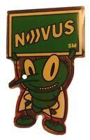 NOVUS Green Bug Advertising Collectors Pin