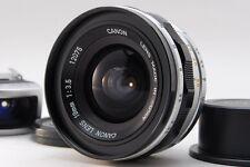 【Rare!】Canon 19mm f/3.5 Super Wide Rangefinder Lens Leica L39 Screw Finder #2757