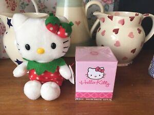 NEW ⭐️LIMITED EDITION⭐️HELLO KITTY⭐️60ml Perfume ~ STRAWBERRY TY Beanie Doll
