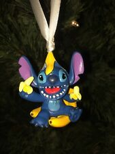 "2"" CRAZY Lilo and Stitch Custom Christmas Ornament GOING BANANAS EATING"
