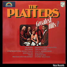 THE PLATTERS Greatest Hits 2 LP. Excellent Condition